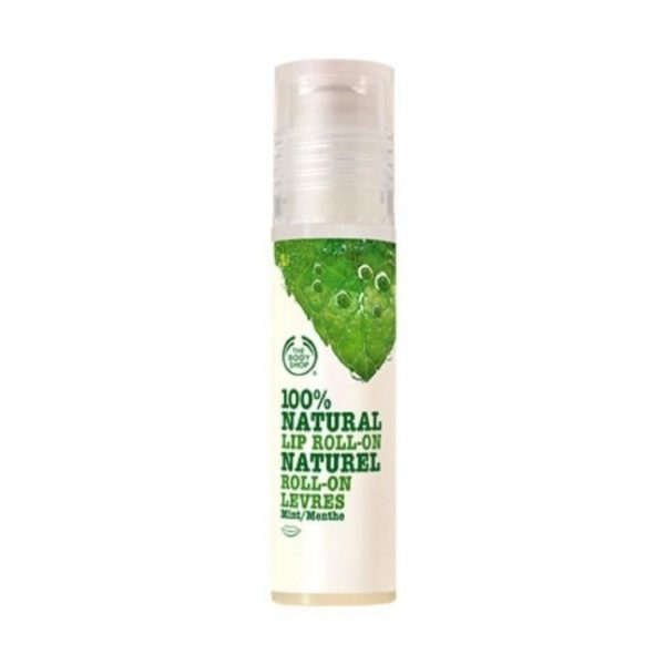 The Body Shop Natural Lip Roll On Mint - 10Ml