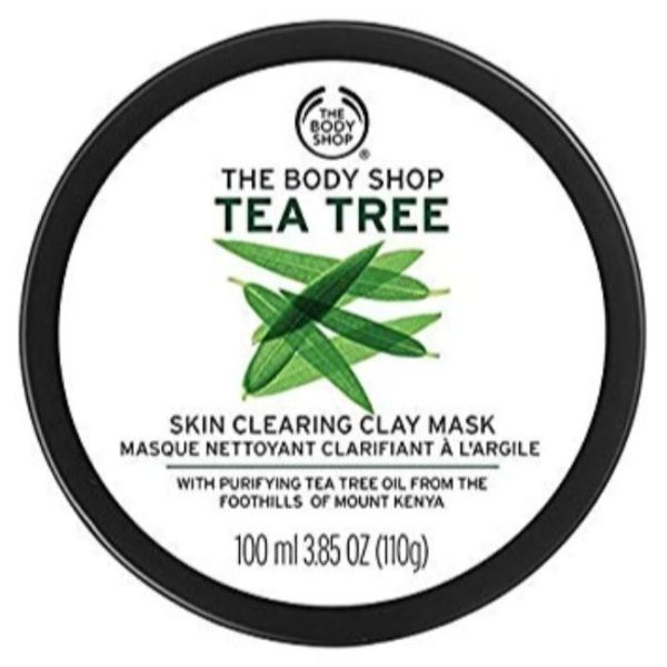 The Body Shop Tea Tree Skin Clearing Clay Mask - 110G