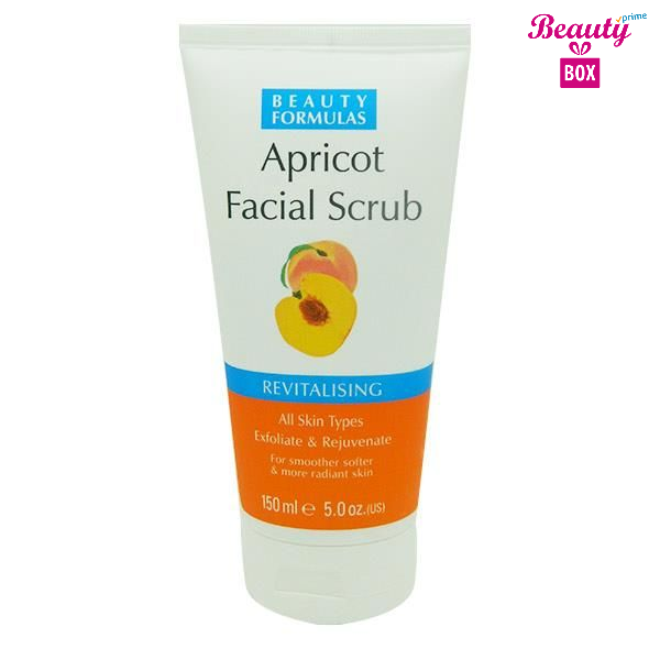 Beauty Formulas Apricot Facial Scrub – 150Ml