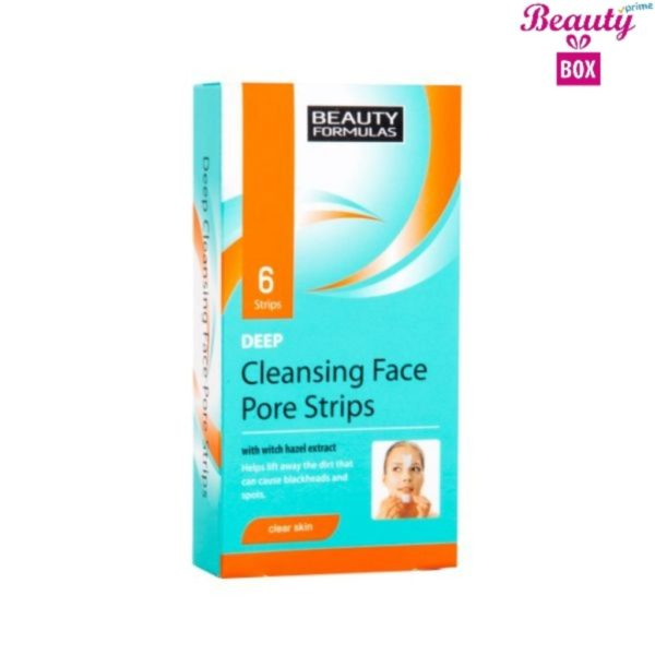 Beauty Formulas Deep Cleans Face Strip - Pack Of 6
