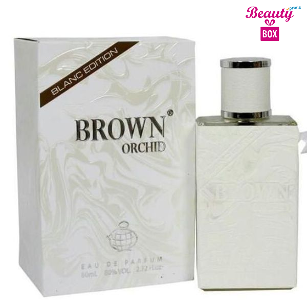 Brown Orchid Blanc Edition Perfume For Men - 100ml-1