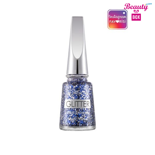 Flormar Glitter Nail Enamel  - L08 Starry Night