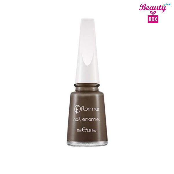 Flormar Nail Enamel - 428 Hot Chocolate Bright Color