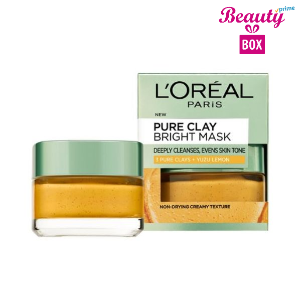 LOreal-Paris-Pure-Clay-Bright-Mask-with-Yuzu-Lemon-50ml-1410686-02 (1)