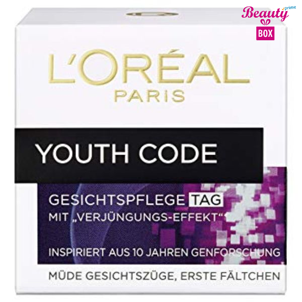 L'oréal Paris Youth Code Nacht Cream-50Ml-1
