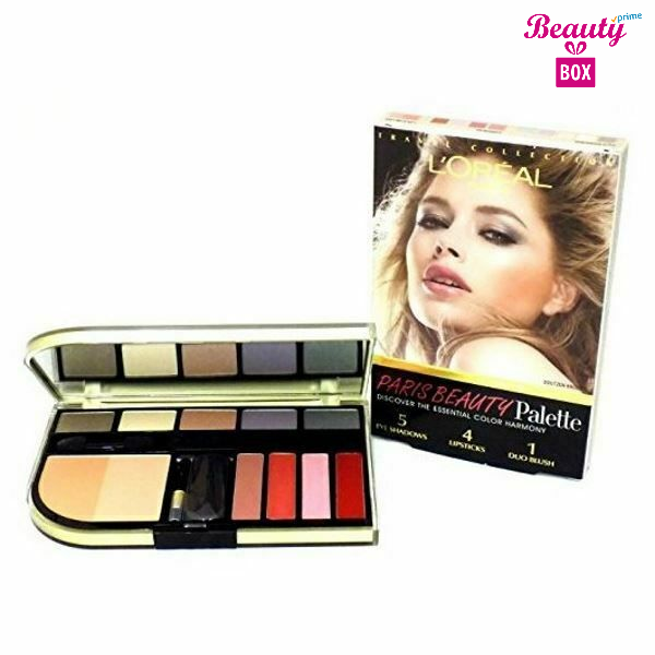Loreal Beauty Eyeshadow Blush and Lipstick Palette-1 (1)