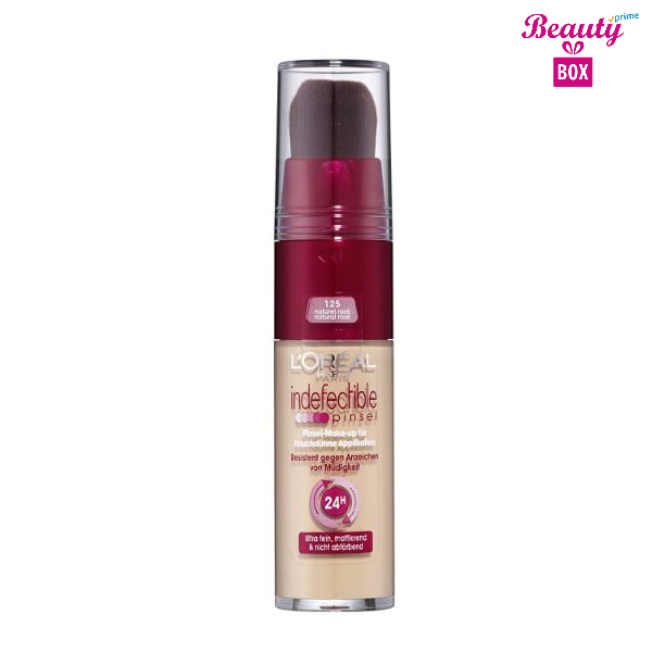 Loreal Infallible High Precision Brush Foundation – 125 Natural Rose