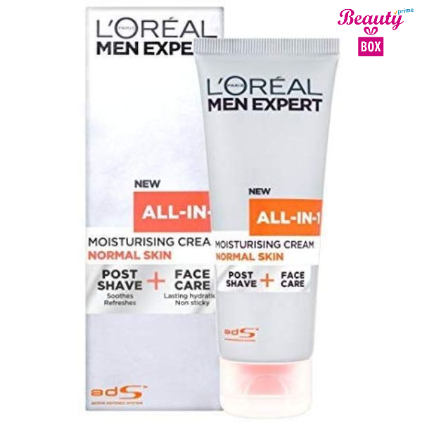 L'oreal Paris Men Expert All In 1 Moisturising Cream For Normal Skin- 75Ml-1