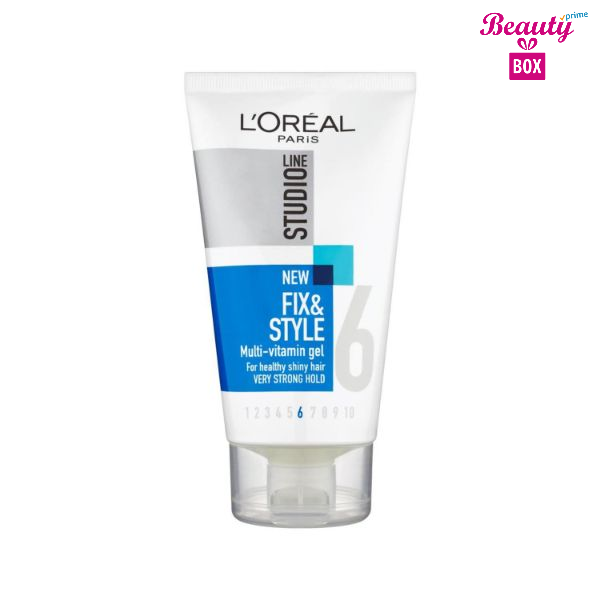 L'oreal Studio Line Fix And Style 4 Vitamin Hair Gel - 150Ml-1