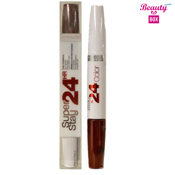 Maybelline Super Stay 24 Hr 2 Step Gloss – 785 Day To Night Brown