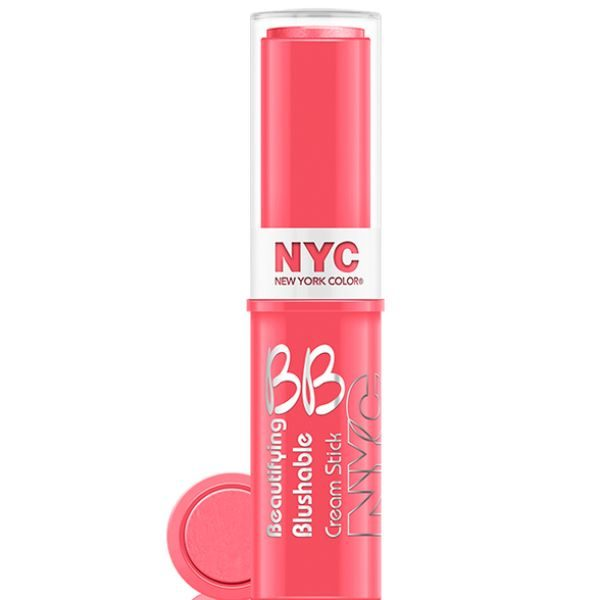 NYC BB Cream Stick Blush – Never Sleeping Pink-1
