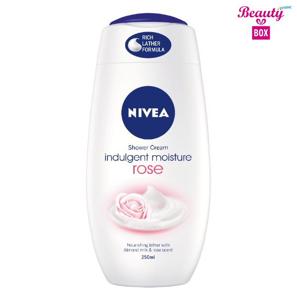Nivea Rose Shower Cream