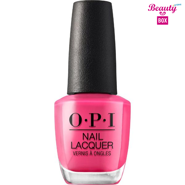 OPI Nail Lacquer- Kiss Me on My Tulips-1