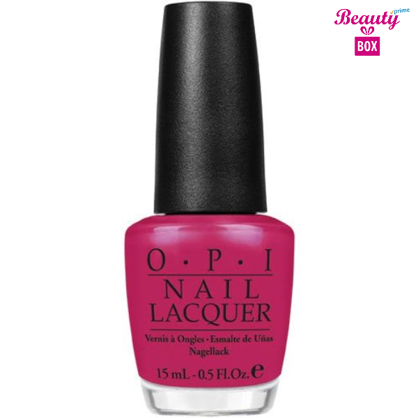 Opi Nail Laquer Too Hot Pink To Hold 'Em 15ml-1