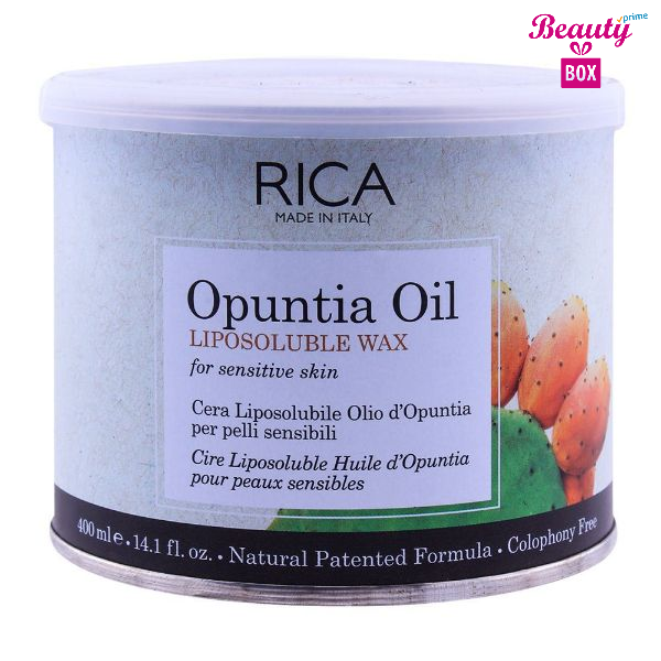Rica Opuntia Oil Sensitive Skin Liposoluble Wax - 400Ml
