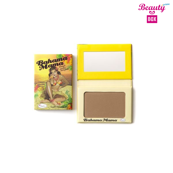 The Balm Bronzer Shadow And Contour Powder-Bahama Mama