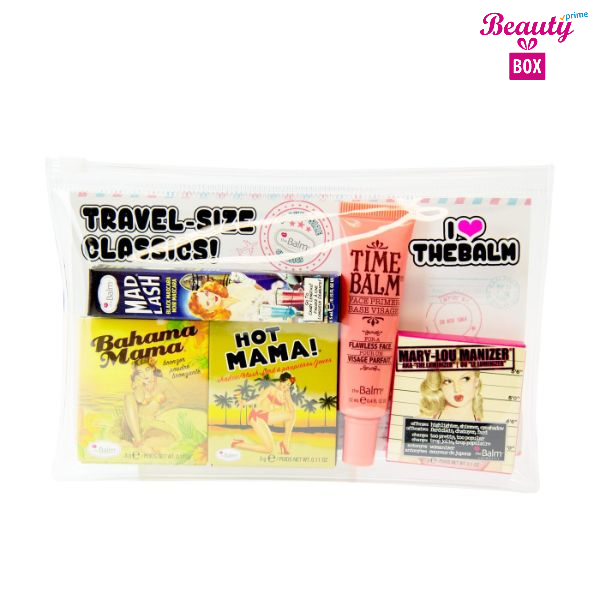 The Balm Travel Size Classics- 5 Pcs Complete Set