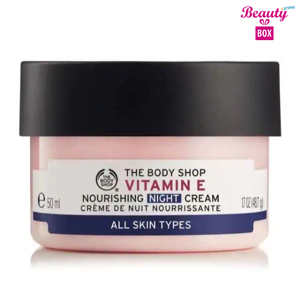 The Body Shop Vitamin E Nourishing Night Cream All Skin 50Ml