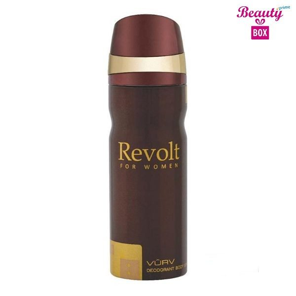Vurv Revolt Deodorant Body Spray For Women 200 Ml