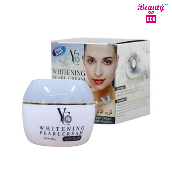 YC Thailand Whitening Pearl Cream - 50Mg