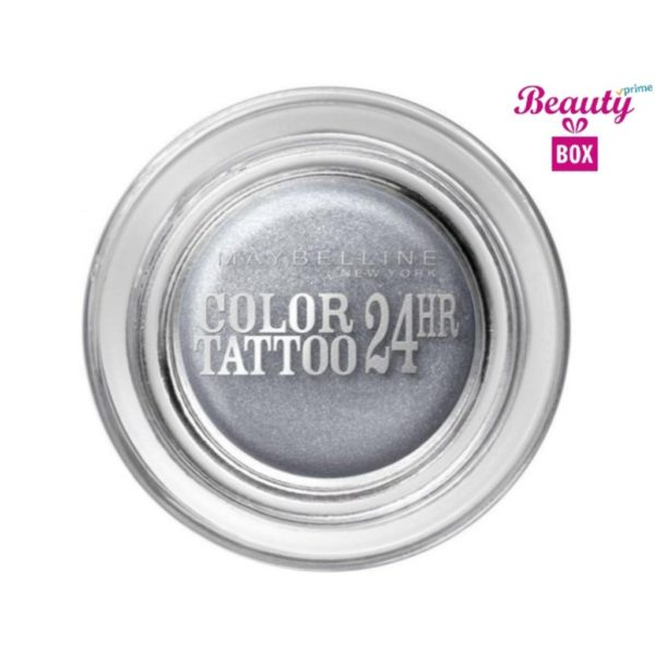 Maybelline Color Tattoo 24 Hour - 50 Eternal Silver