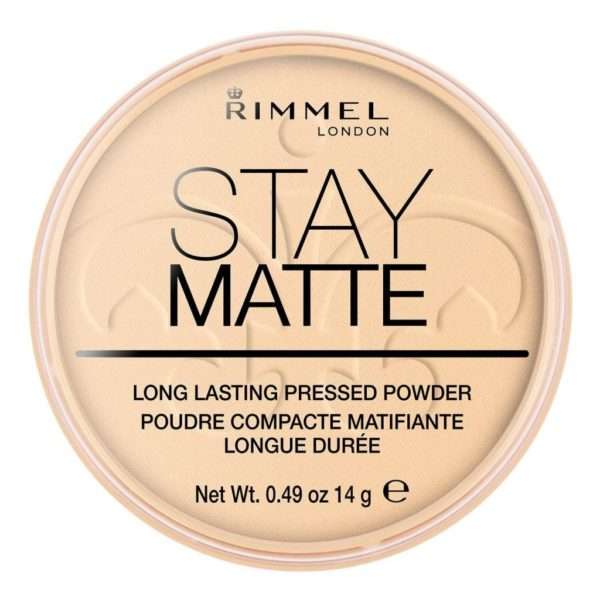 Rimmel Stay Matte Pressed Powder - 001 Transparent