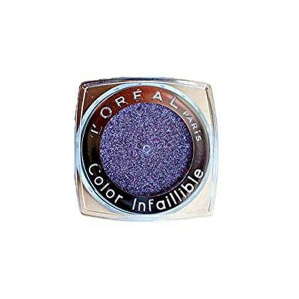 Loreal Infalible Eyeshadow Mettalic Lilac Irdescent Shimmery