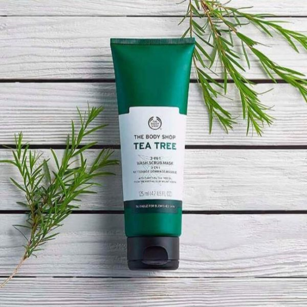 The Body Shop Tea Tree 3 In 1 Wash Scrub Mask - 125Ml