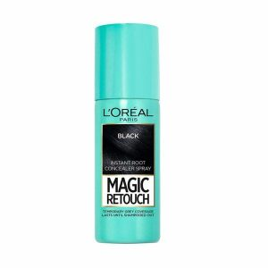 Loreal Magic Retouch Instant Hair Root Concealer Spray Black 75 Ml