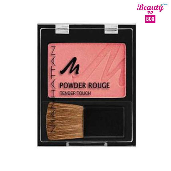 Manhattan Powder Rouge Tender Touch – 39D Apricot-1