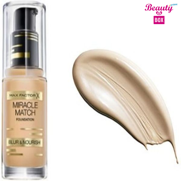 Max Factor Miracle Match Foundation – 40 Light Ivory-2