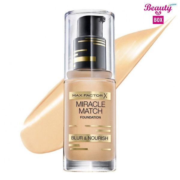 Max Factor Miracle Match Foundation – 47 Nude-1