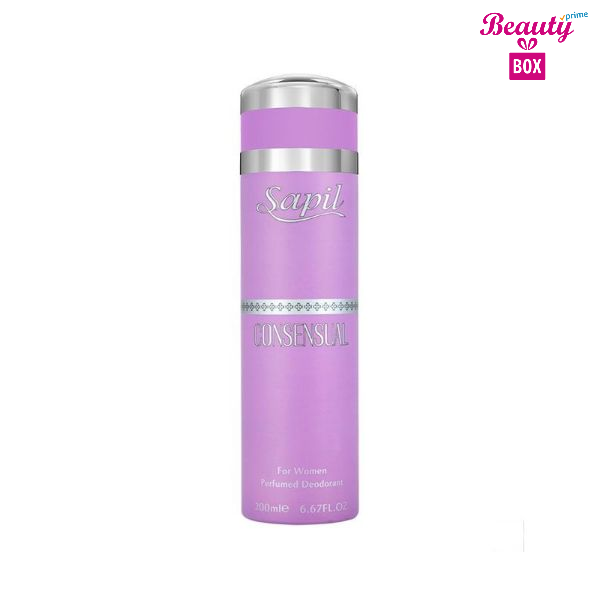 Sapil Consensual Body Spray For Women 200ml (1) (1)