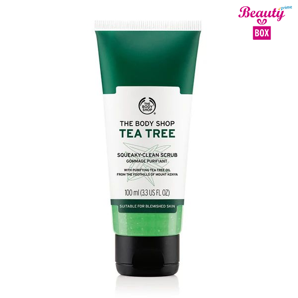 The Body Shop Tea Tree Squeaky - Clean Exfoliating Face Scrub