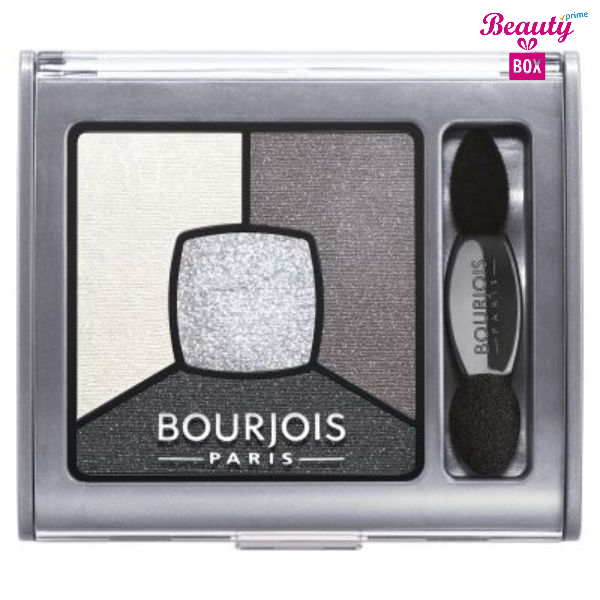 Bourjois Smoky Stories Eyeshadow - 01 Grey & Night-1