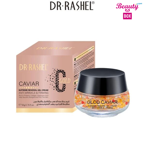 Dr Rashel C Gold Caviar Anti Wrinkle Firming Gel Cream