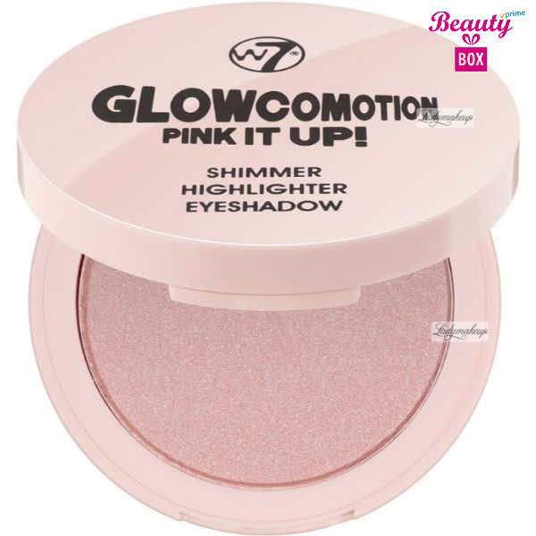 W7 Glow Co Motion Pink It Up Shimmer Highlighter Eye Shadow (1)