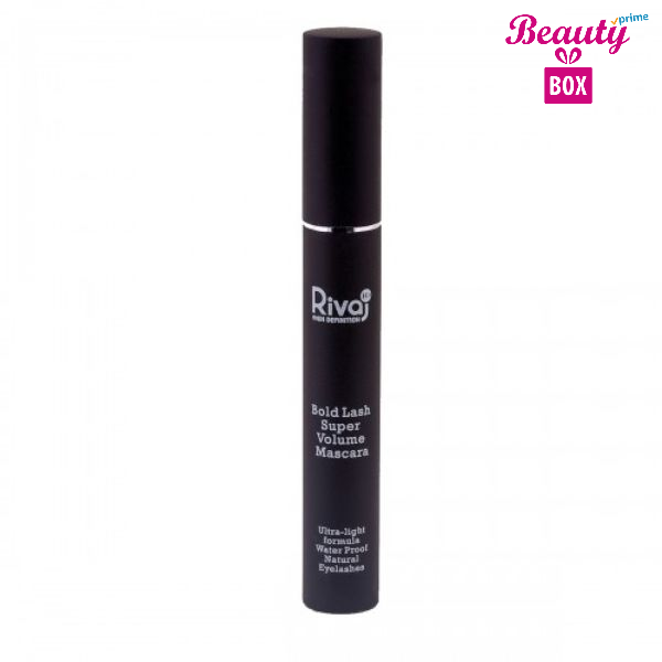 Rivaj HD Bold Lash Super Volume Mascara - Black