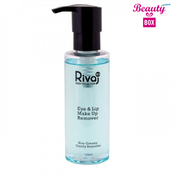 Rivaj HD Eye & Lip Makeup Remover 125Ml