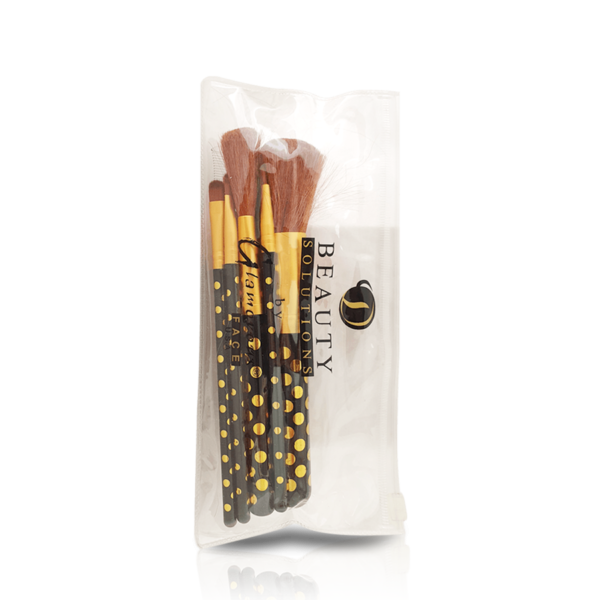 Glamorous Face Pouch Brushset (3 Colours)
