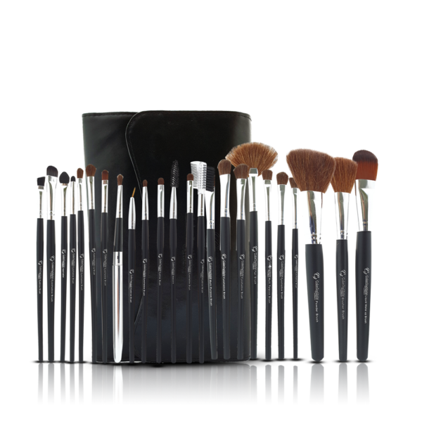 Color Institute 24 Piece Leather Brushset