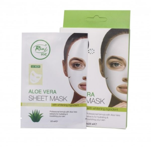 Rivaj UK Aloe Vera Sheet Mask