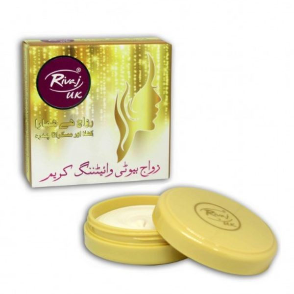 Rivaj UK Beauty Whitening Cream - 30g