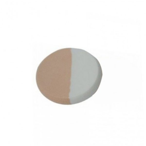 Rivaj UK Dual Tone Puff (Round Shape)