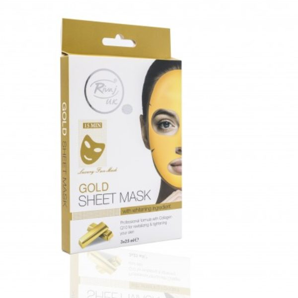 Rivaj UK Gold Sheet Mask
