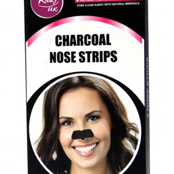 Rivaj Uk Charcoal Nose Strips - 6 Strips