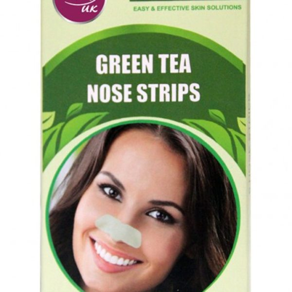 Rivaj Uk Green Tea Nose Strips - 6 Strips