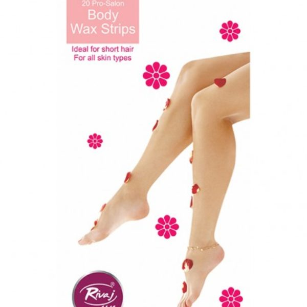 Rivaj Uk Reusable Body Wax Strips - 20 Strips