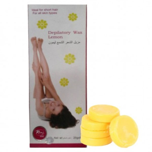 Rivaj Uk Depilatory Hot Wax (Lemon)