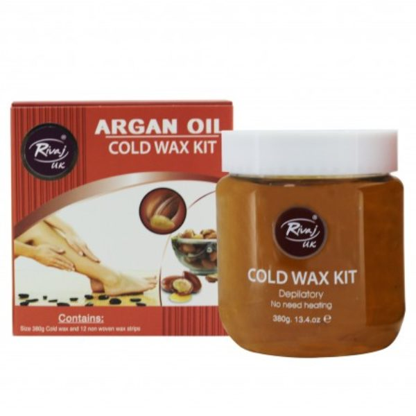 Rivaj Uk Argan Oil Cold Wax Kit - 380G